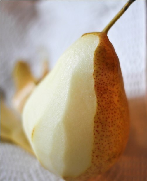 pears peeled and cut into wedges i used bartlett pears