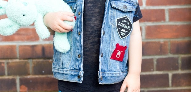 DIY Denim vest