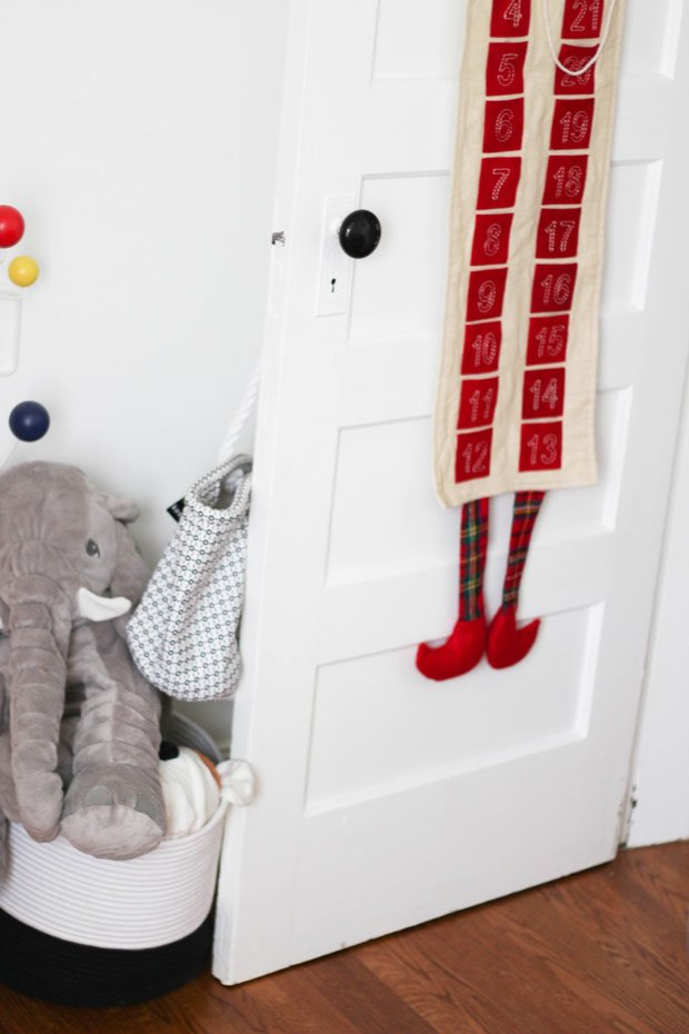 advent-calendar-in-the-baby's-room