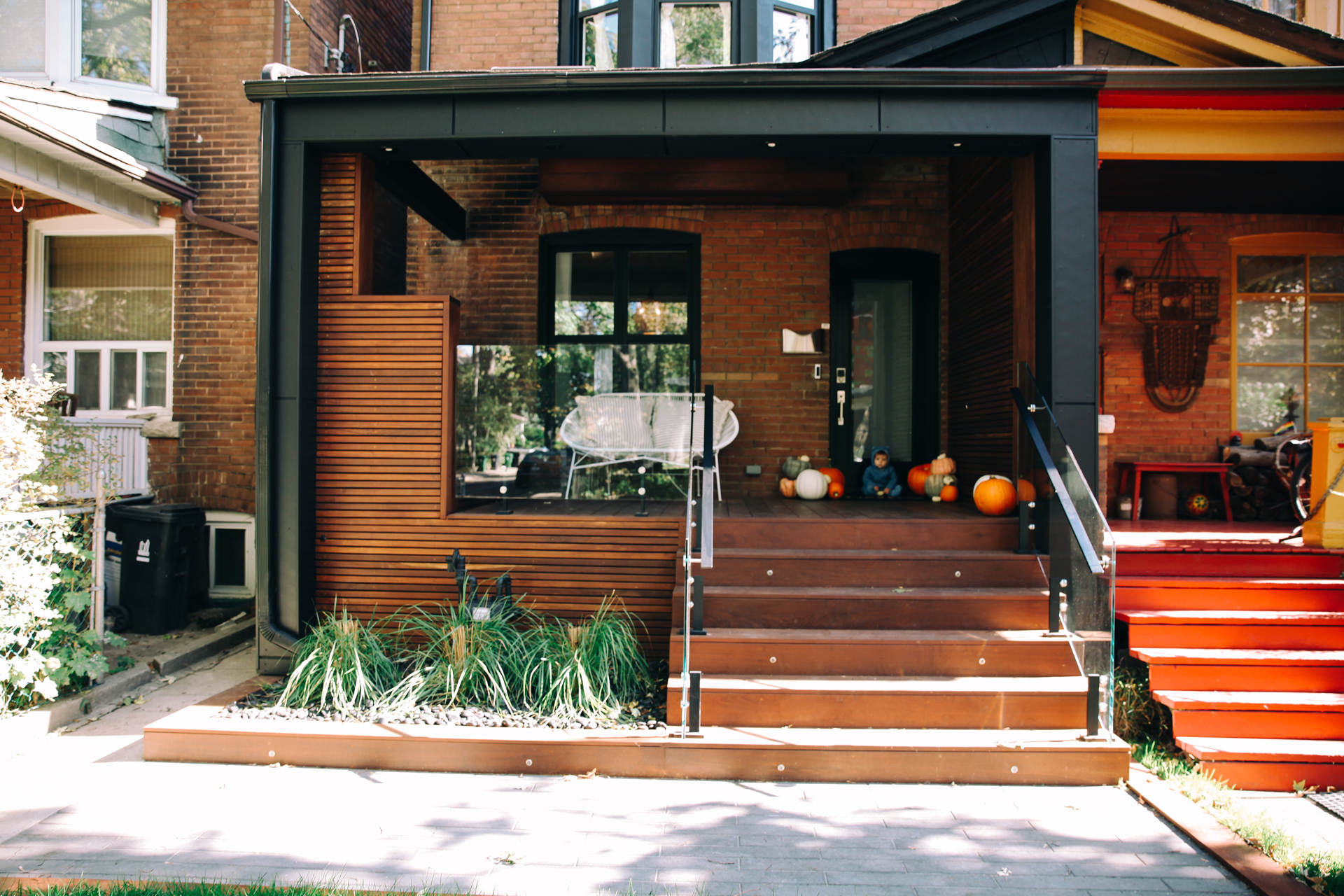 Our Modern Toronto Porch Reveal Bluebirdkisses