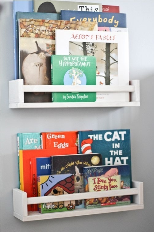 Diy Children S Book Case Pinterest Project Bluebirdkisses