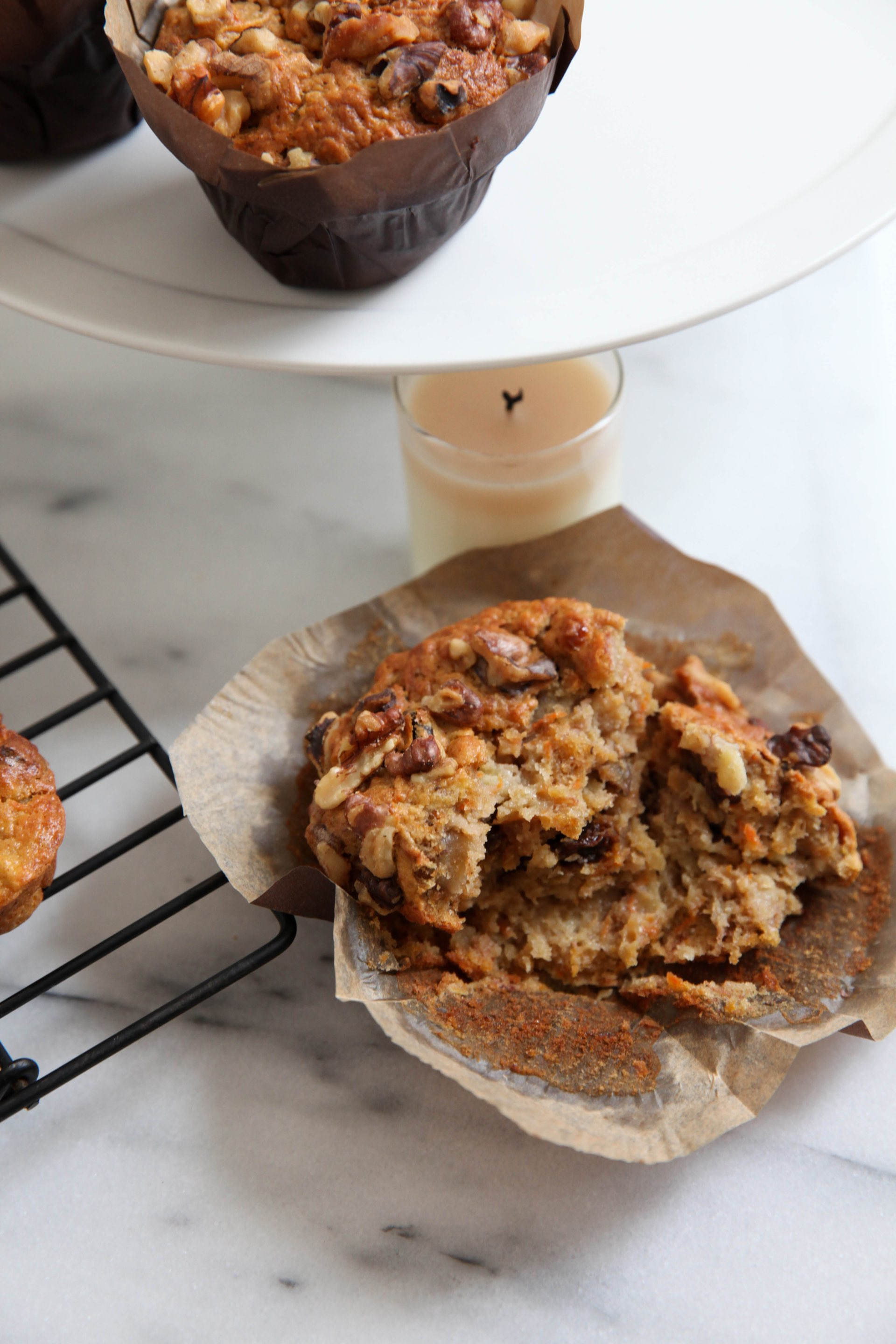 The Best Ever Morning Glory Muffin Recipe Bluebirdkisses