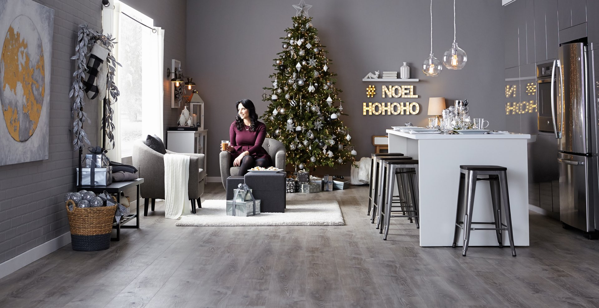 Christmas Decorating With Canadian Tire Bluebirdkisses