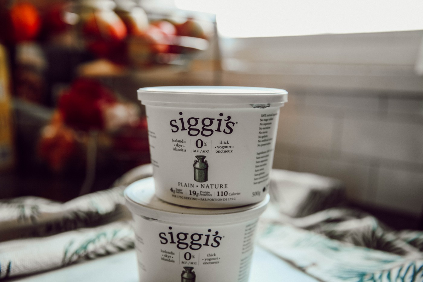 Skyr Yogurt for Everything | BluebirdKisses